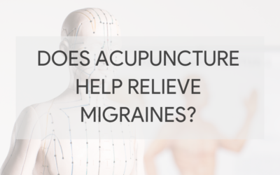 Does acupuncture help relieve migraines?
